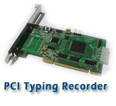 USB keystroke recorder or logger